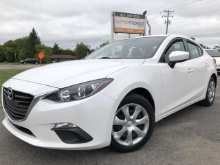 Used 2015 Mazda MAZDA3 GX Auto with Bluetooth, Pwr Windows, Air, Keyless Entry and Steering Wheel Controls! for sale in Kemptville, ON
