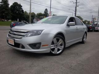 Used 2011 Ford Fusion SPORT for sale in Whitby, ON
