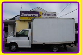 Used 2011 Chevrolet Express 3500 G3500 12' Cube, Power Tail Gate for sale in Woodbridge, ON