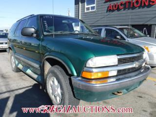Used 1999 Chevrolet Blazer 4D Utility 4WD for sale in Calgary, AB