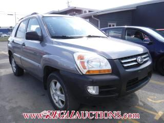 Used 2006 Kia Sportage LX 4D Utility V6 FWD for sale in Calgary, AB