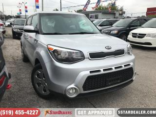 Used 2014 Kia Soul LX | BLUETOOTH | APPLY NOW for sale in London, ON