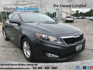 Used 2013 Kia Optima LX for sale in Oakville, ON