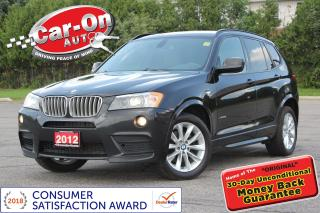 Used 2012 BMW X3 xDrive35i LEATHER NAV PANO ROOF ONLY 74, 000 KM for sale in Ottawa, ON