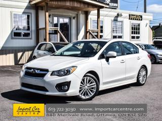 Used 2014 Subaru Impreza Sport Pkg 5 SPEED ROOF HEATED SEATS ONLY 69KKMS!! for sale in Ottawa, ON