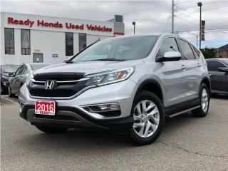 Used 2016 Honda CR-V EX - Sunroof - Alloys - Lane Watch for sale in Mississauga, ON