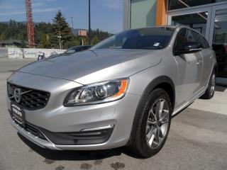 Used 2017 Volvo V60 Cross Country T5 AWD Premier for sale in North Vancouver, BC
