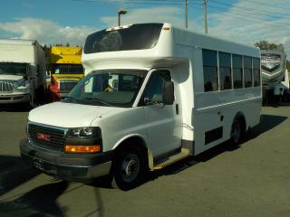 Used 2009 GMC Savana G3500 13 Passenger Bus Diesel Wheelchair Accessible Lift with Seatbelts for sale in Burnaby, BC