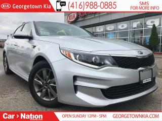 Used 2016 Kia Optima LX ECO TURBO | FUEL EFFICIENT | ONE OWNER | for sale in Georgetown, ON