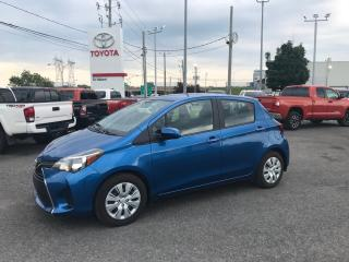 Used 2017 Toyota Yaris LE, AIR, CRUISE, BLUETOOTH for sale in St-Hubert, QC