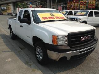 Used 2013 GMC Sierra 1500 Ext. Cab - 4X4 - 5.3L V8 for sale in Surrey, BC