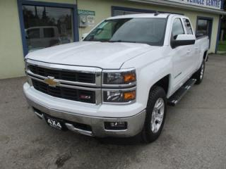 Used 2015 Chevrolet Silverado 1500 LOADED LT EDITION 5 PASSENGER 5.3L - V8.. 4X4.. QUAD-CAB.. SHORTY.. NAVIGATION.. BACK-UP CAMERA.. HEATED SEATS.. CD/AUX/USB INPUT.. for sale in Bradford, ON