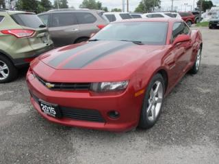 Used 2015 Chevrolet Camaro LOADED 1-LT - COUPE EDITION 4 PASSENGER 3.6L - V6.. AUX/USB INPUT.. BLUETOOTH.. BACK-UP CAMERA.. KEYLESS ENTRY.. for sale in Bradford, ON
