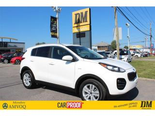 Used 2018 Kia Sportage LX, CAMÉRA DE RECUL, AWD, SIÈGES CHAUFFANTS for sale in Salaberry-de-Valleyfield, QC