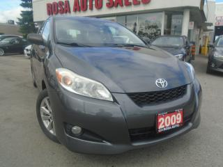 Used 2009 Toyota Matrix AUX,LOW KM, PL,PW,PM SAFETY &E TEST for sale in Oakville, ON