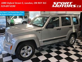 Used 2012 Jeep Liberty 4x4 Sport Trail Rated+New Tires & Brakes+Cruise+AC for sale in London, ON