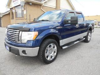 Used 2010 Ford F-150 XLT XTR Crew Cab 4X4 5.4L Triton V8 ONLY 72,000KMs for sale in Rexdale, ON