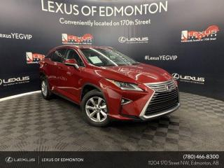 New 2018 Lexus RX 350 NAVIGATION PACKAGE for sale in Edmonton, AB