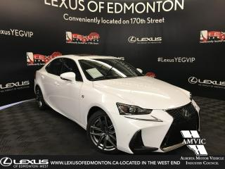 Used 2018 Lexus IS 350 DEMO UNIT - F SPORT SERIES 3 for sale in Edmonton, AB