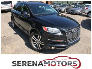 Used 2007 Audi Q7 7 PASSENGERS | PREMIUM PKG | NO ACCIDENTS for sale in Mississauga, ON