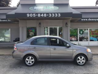 Used 2007 Chevrolet Aveo LT 5Speed for sale in Mississauga, ON