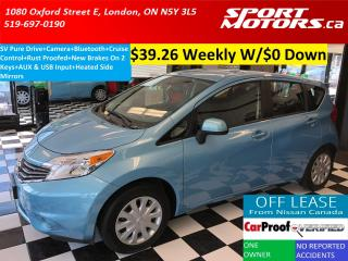 Used 2014 Nissan Versa Note SV+Camera+Bluetooth+New Brakes+Rust Proofed+A/C for sale in London, ON