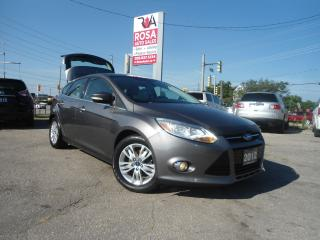 Used 2012 Ford Focus SEL AUTO HATCH NO ACCIDENT SAFETY B-TOOTH HT SEATS for sale in Oakville, ON