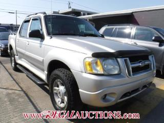 Used 2004 Ford Explorer Sport Trac 4D Utility 4WD for sale in Calgary, AB