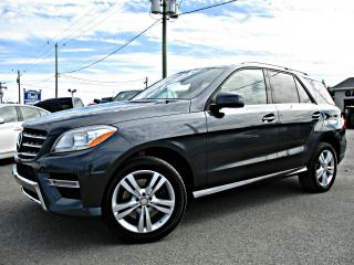 Used 2014 Mercedes-Benz ML 350 ML 350 BlueTEC 4 portes 4MATIC Cuir Toit for sale in Delson, QC