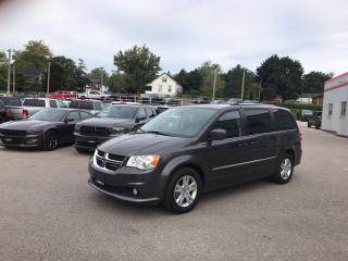 Used 2017 Dodge Grand Caravan Crew | JUST IN | LEATHER | REAR CAM & MORE for sale in Mitchell, ON