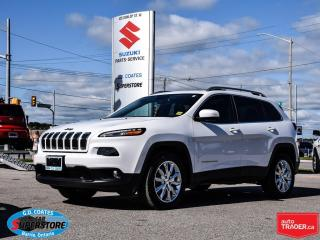 Used 2016 Jeep Cherokee Limited 4x4 ~Nav ~Backup Cam ~Panoramic Roof for sale in Barrie, ON
