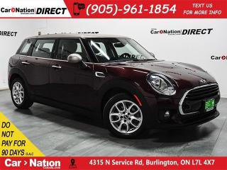 Used 2017 MINI Cooper Clubman Cooper| LEATHER| DUAL SUNROOF| for sale in Burlington, ON
