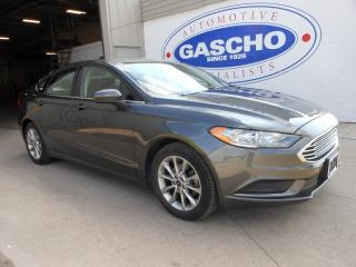Used 2017 Ford Fusion SE|PUSH START|BACK UP CAM for sale in Kitchener, ON