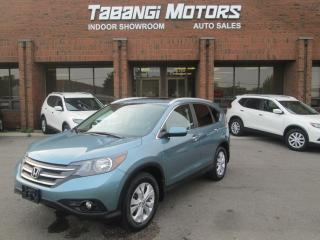 Used 2014 Honda CR-V TOURING | NAVIGATION | CAMERA | LEATHER | SUNROOF for sale in Mississauga, ON