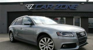 Used 2011 Audi A4 2.0T WAGON, PANOROOF, AWD, EASY LOANS for sale in Calgary, AB