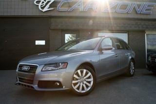 Used 2011 Audi A4 AWD, 2.0T WAGON, PANOROOF, AWD, EASY LOANS for sale in Calgary, AB