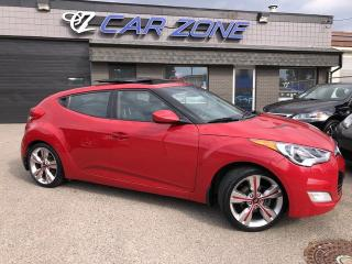 Used 2013 Hyundai Veloster TECH NAVI PANOROOF BACKUP 6 SPEED for sale in Calgary, AB