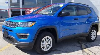New 2018 Jeep Compass Sport for sale in Owen Sound, ON