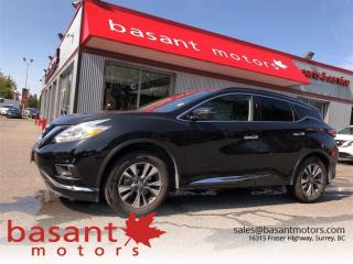 Used 2017 Nissan Murano Nav, Panoramic Roof, Backup Camera, Remote Start!! for sale in Surrey, BC