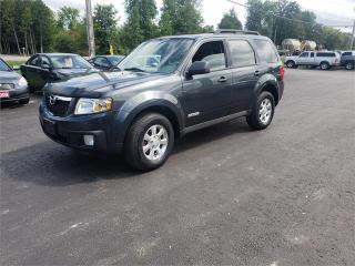 Used 2008 Mazda Tribute 97k Safetied AWD We Finance GX for sale in Madoc, ON