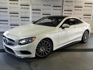 Used 2017 Mercedes-Benz S550 4MATIC Coupe for sale in Calgary, AB