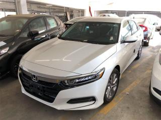 New 2018 Honda Accord LX for sale in Vancouver, BC