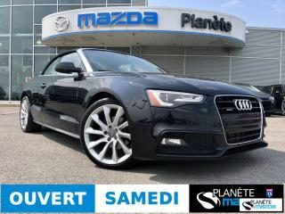 Used 2014 Audi A5 2d Conv S-Line Cuir for sale in Mirabel, QC