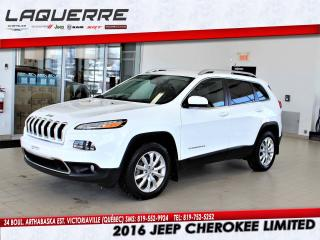 Used 2016 Jeep Cherokee Ltd V6 4x4 for sale in Victoriaville, QC
