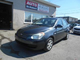 Used 2007 Hyundai Accent GL for sale in Saint-hubert, QC