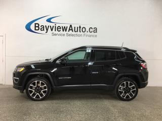 Used 2017 Jeep Compass Limited - REM START! PANOROOF! HTD LTHR! NAV! SELEC-TERRAIN! for sale in Belleville, ON