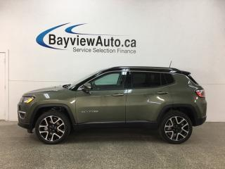 Used 2017 Jeep Compass Limited - REM START! PANOROOF! HTD LTHR! SELEC-TERRAIN! NAV! U-CONNECT! for sale in Belleville, ON