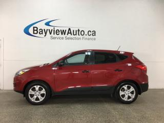 Used 2015 Hyundai Tucson GL - HTD SEATS! A/C! BLUETOOTH! PWR GROUP! CRUISE! for sale in Belleville, ON