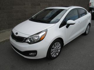 Used 2013 Kia Rio Berline 4 portes, boîte manuelle, LX for sale in Gatineau, QC