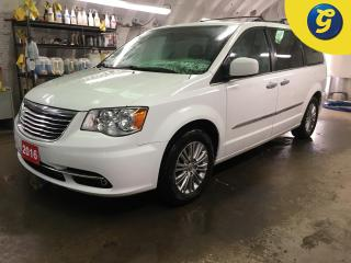 Used 2016 Chrysler Town & Country LUXURY*SUNROOF*NAVIGATION*LEATHER*DUAL DVD BLU-RAY*6.5 INCH U CONNECT TOUCH SCREEN*POWER SLIDING DOORS/POWER LIFTGATE*KEYLESS W/REMOTE START*HANDS FRE for sale in Cambridge, ON